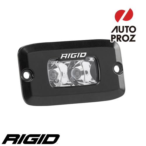 [Rigid Industries 正規品] SR-M PRO LEDライト 発光パターン:スポット フラッシュマウントタイプ