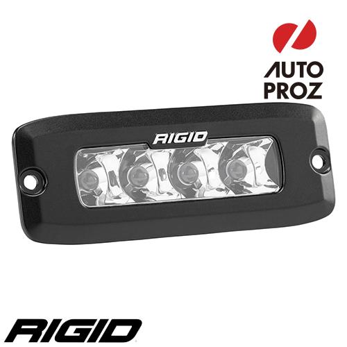 [Rigid Industries 正規品] SR-Q LEDライト 2個セット LEDカラー:オレンジ 発光パターン:スポット フラッシュマウントタイプ