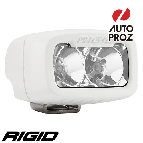 [Rigid Industries 正規品] SR-M PRO LEDライト LEDカラー:ホワイト 発光パターン:フラッド サーフェスマウントタイプ