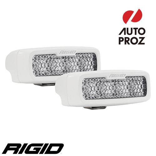 [Rigid Industries 正規品] SR-Q PRO LEDライト 2個セット LEDカラー:ホワイト 発光パターン:ディフューズ サーフェスマウントタイプ