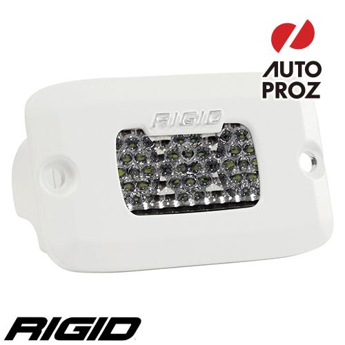 [Rigid Industries 正規品] SR-M PRO LEDライト LEDカラー:ホワイト 発光パターン:ドライブ ディフューズ サーフェスマウントタイプ