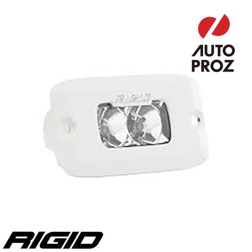 [Rigid Industries 正規品] SR-M PRO LEDライト LEDカラー:ホワイト 発光パターン:フラッド フラッシュマウントタイプ
