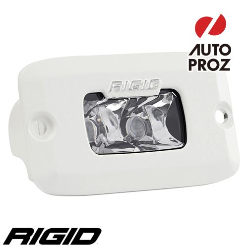 [Rigid Industries 正規品] SR-M PRO LEDライト LEDカラー:ホワイト 発光パターン:スポット フラッシュマウントタイプ