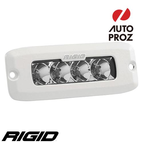 [Rigid Industries 正規品] SR-Q PRO LEDライト LEDカラー:ホワイト 発光パターン:フラッド フラッシュマウントタイプ