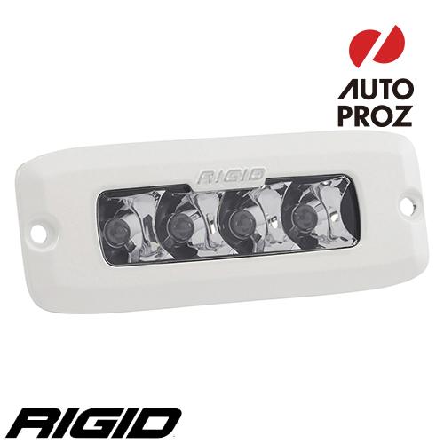 [Rigid Industries 正規品] SR-Q PRO LEDライト LEDカラー:ホワイト 発光パターン:スポット フラッシュマウントタイプ