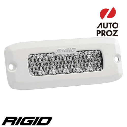 [Rigid Industries 正規品] SR-Q PRO LEDライト LEDカラー:ホワイト 発光パターン:ディフューズ フラッシュマウントタイプ