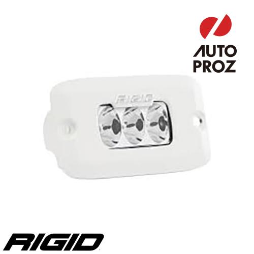 [Rigid Industries 正規品] SR-M PRO LEDライト LEDカラー:ホワイト 発光パターン:ドライビング フラッシュマウントタイプ