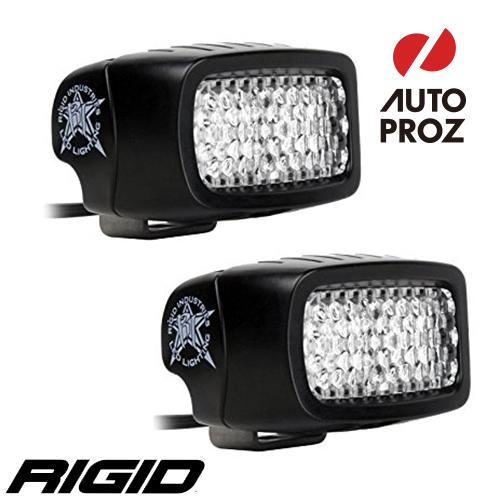 [Rigid Industries 正規品] SR-M PRO バックライトキット 発光パターン:ディフューズ