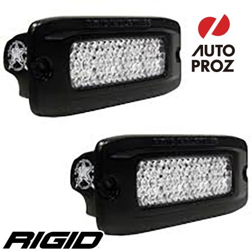 [Rigid Industries 正規品] SR-Q PRO バックライトキット 発光パターン:ディフューズ フラッシュマウントタイプ