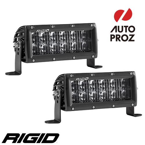[Rigid Industries 正規品] Eシリーズ 6インチ LEDライト ドライビング 2個 ブラック