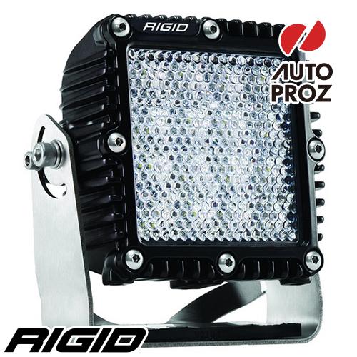 [Rigid Industries 正規品] Qシリーズ PRO LEDライト フラッド ディフューズ ブラック