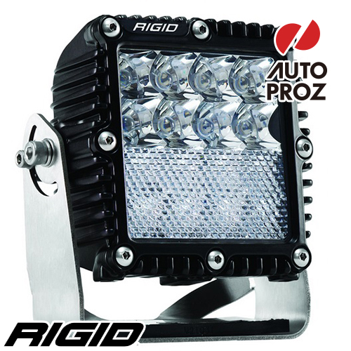 [Rigid Industries 正規品] Qシリーズ PRO LEDライト スポット/フラッド ダウンディフューズ ブラック