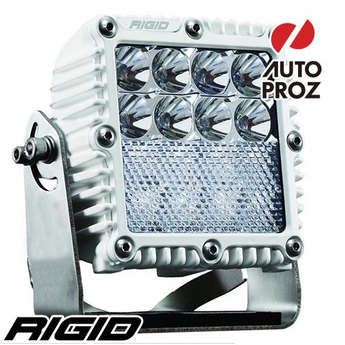 [Rigid Industries 正規品] Qシリーズ PRO LEDライト フラッド ダウンディフューズ ホワイト