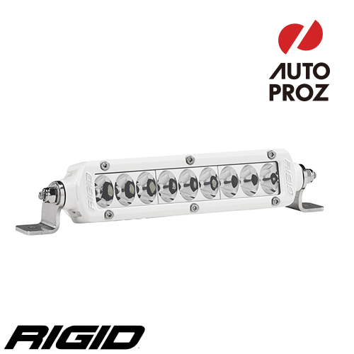 [Rigid Industries 正規品] SRシリーズ PRO 6インチ LEDライト ドライビング ホワイト