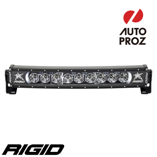 [Rigid Industries 正規品] ラディエンス プラス カーブ 20インチ バックライト ホワイト