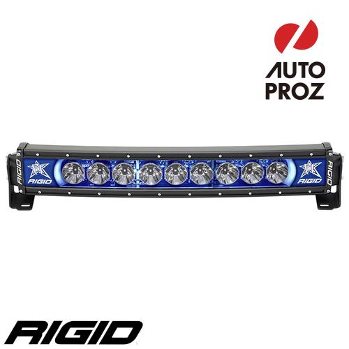 [Rigid Industries 正規品] ラディエンス プラス カーブ 20インチ バックライト ブルー
