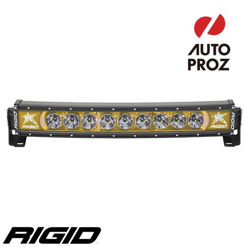 [Rigid Industries 正規品] ラディエンス プラス カーブ 20インチ バックライト アンバー
