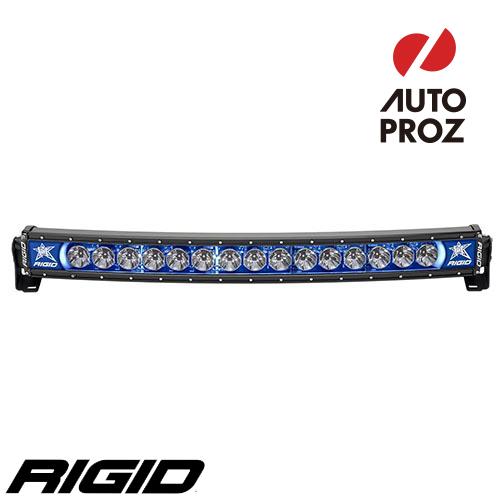 [Rigid Industries 正規品] ラディエンス プラス カーブ 30インチ バックライト ブルー