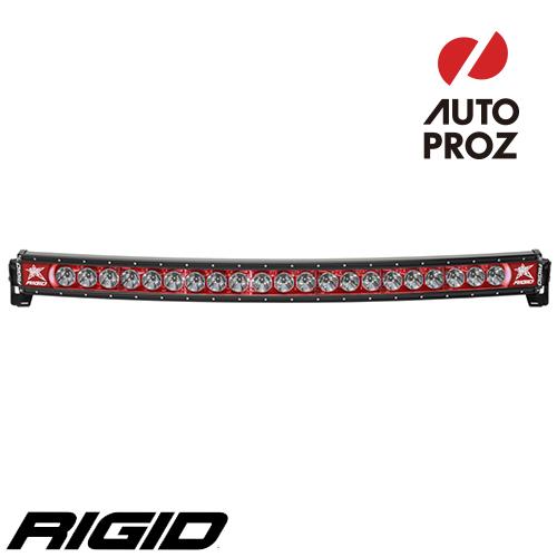 [Rigid Industries 正規品] ラディエンス プラス カーブ 40インチ バックライト レッド