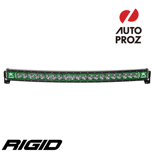 [Rigid Industries 正規品] ラディエンス プラス カーブ 40インチ バックライト グリーン
