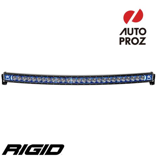 [Rigid Industries 正規品] ラディエンス プラス カーブ 54インチ バックライト ブルー
