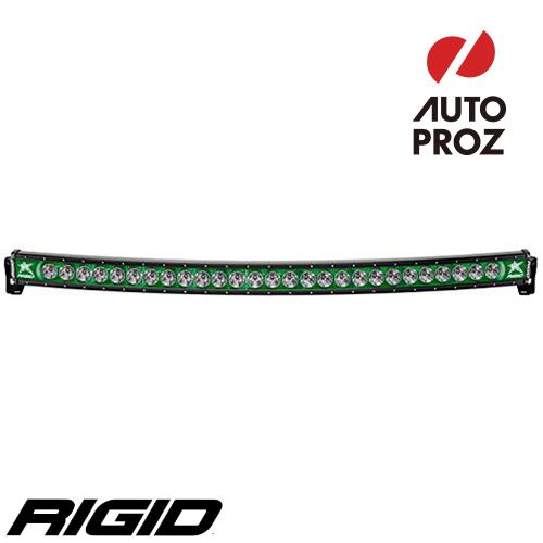 [Rigid Industries 正規品] ラディエンス プラス カーブ 54インチ バックライト グリーン