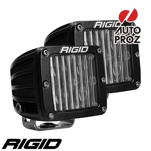 [Rigid Industries 正規品] Dシリーズ SAEフォグライト 2個 ブラック