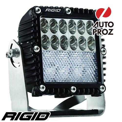 [Rigid Industries 正規品] Qシリーズ PRO LEDライト ドライビング/ダウンディフューズ ブラック