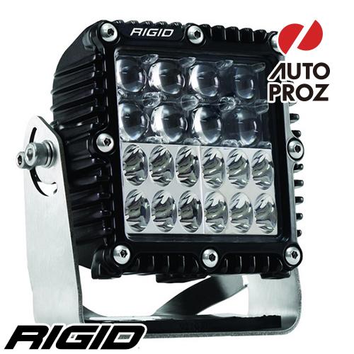 [Rigid Industries 正規品] Qシリーズ PRO LEDライト ハイパースポット/ドライビング コンボ ブラック