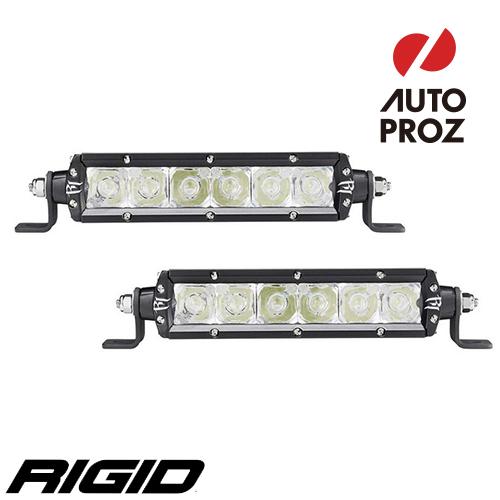 [Rigid Industries 正規品] SRシリーズ 6インチ E-MARK LEDライト スポット 2個 ブラック