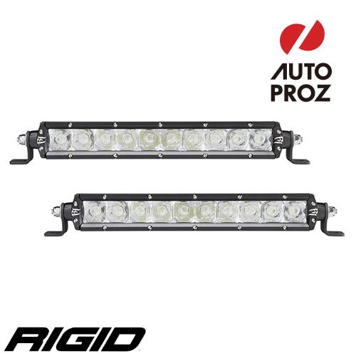[Rigid Industries 正規品] SRシリーズ 10インチ E-MARK LEDライト スポット 2個 ブラック
