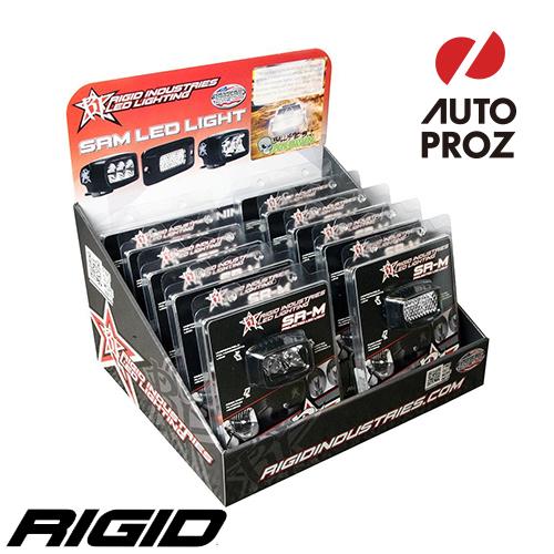 [Rigid Industries 正規品] SR-M ディスプレイ 10個