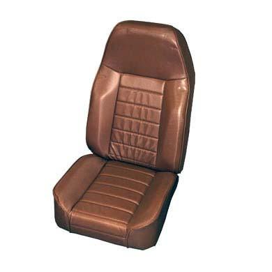 [Smittybilt 正規品] ジープ CJ 1976-2002年 スタンダードバケットシート スパイスデニム