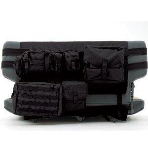 [Smittybilt 正規品] ジープ TJラングラー G.E.A.R. 後部席用シートカバー ブラック