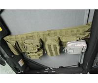 [Smittybilt 正規品] ジープ TJラングラー G.E.A.R. オーバーヘッドコンソール グリーン