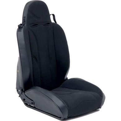 [Smittybilt 正規品] ジープ ラングラー 1976-2014年 XRC レーシングスタイル リクライニングシート 助手席用 ブラック