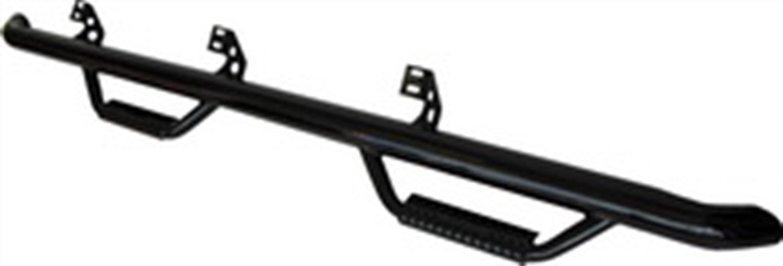 【USエヌファブ 直輸入正規品】 n-Fab シボレー GMC 1500/2500/3500 クルーキャブ 6.5フィートベッド 2001-2006年式 ナーフステップ ツヤありブラック