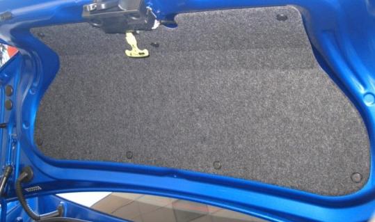 【USスバル直輸入純正品】SUBARU BRZ2012年式以降 現行 トヨタ 86 ハチロク ZN6型トランクリッドライナーキットトランク蓋用カバー