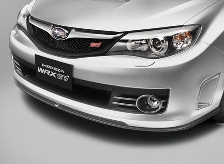 【USスバル直輸入純正品】Impreza WRX インプレッサ2007-2014年(平成19年-26年式)STI フロントリップスポイラー