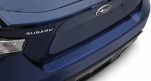 【USスバル 直輸入純正品】 SUBARU BRZ用 リアバンパーガード/リアバンパー保護シール