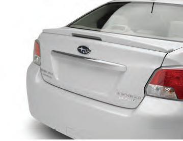 【USスバル直輸入純正品】SUBARU スバルImpreza インプレッサ 2011年式以降 現行G4に適合4ドアモデル専用リアガーニッシュ