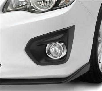 【USスバル直輸入純正品】SUBARU スバルImpreza インプレッサ 2011年式以降 現行GP/GJ型に適合フォグライトキット(ベージュ)