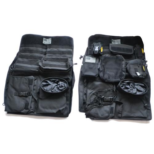 [Smittybilt 正規品] 汎用 シートカバー G.E.A.R. フロント2ペア ブラック