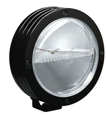 【KC Light 直輸入純正品】KCライト LED証明直径:8インチ (ブラック 黒)/SSLED 35ワット