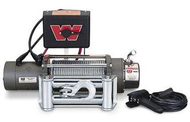 【Warn 直輸入純正品】ワーン (ウォーン) ウィンチM8000 (ワイヤーロープ, 12V)