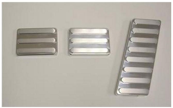 【AMI 直輸入正規品】 ペダルカバーキットブレーキパッドボーダータイプJEEP ジープJK Wrangler JKラングラー2ドア/4ドア 2007年式以降 現行MT用