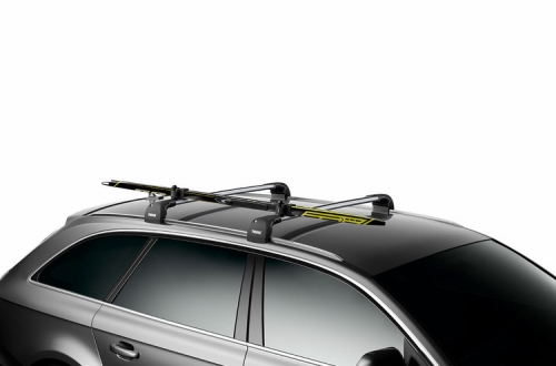 THULE Thule SkiClick ski click roof mount skycarriercarrier * ski one can be stored.