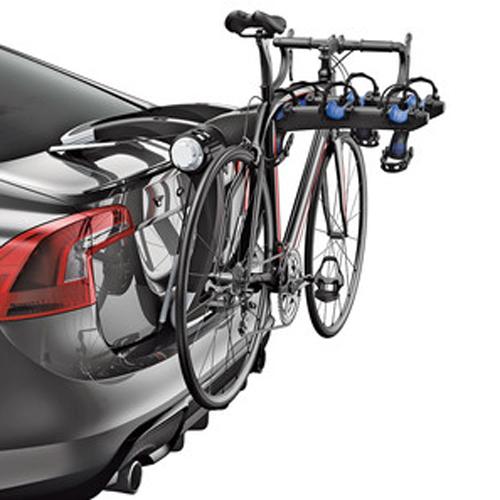 【USスーリー 直輸入正規品】 THULE Raceway PROレースウェイプロサイクルキャリア(リアハッチ用バイクキャリア/ 自転車ラック)※自転車3台搭載可能
