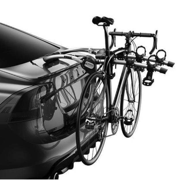 【USスーリー 直輸入正規品】 THULE リアドアマウント Gateway ゲートウェイ サイクルキャリア(リアハッチ用バイクキャリア/ 自転車ラック)※自転車3台搭載可能
