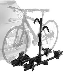THULE 쑤 리 ヒッチマウント Doubletrack 더블 트랙 사이클 캐리어 (자전거 캐리어/자전거 랙) ※ 2/1.25 インチヒッチメンバー 장착 차량용 ※ 자전거 2 대 장착 가능